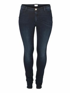 These jeans go with any outfit and style. #junarose #jeans #denim #fashion #plussize