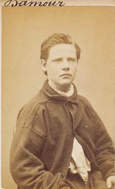 Portraits de condamnés, Commune de Paris 1871