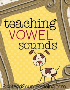 Teaching Vowel Sounds: Teaching the short vowel sounds can be tricky. Here is how I suggest teaching vowel sound phonemic awareness to kindergarten or preschool students.how to teach students to listen for the vowel sound. Creative Teaching, Student Teaching, Teaching Reading, Teaching Resources, Teaching Ideas, Primary Teaching, Elementary Teaching, Reading Skills, Phonics Activities