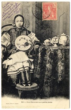 The Regal Chinese Girl (c.1904) (by postaletrice)