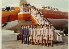 1970s flight attendant | ShimShim: Flight Attendants in 1970's