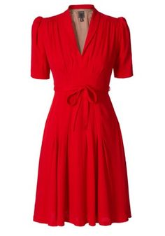 Great red dress: Might have to get this for Go RED For Women next year :)