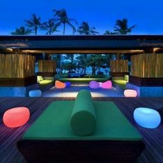This sweet retreat by MAPS Design is, simply put, unreal! Located in Koh Samui, Thailand, W Retreat and Residences is an oasis of 70 boutique luxury Hotel Koh Samui, Koh Samui Thailand, Ko Samui, Phuket, Maps Design, Modern Outdoor Living, Beautiful Hotels, Lounges, Restaurant Design