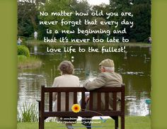 As a therapist, many clients in middle age ask if they are just too old to change. This Daily is my answer to them! Regardless of what has happened in the past, it is never too late to build on lessons learned and create yourself a happy life NOW. Never Too Old, Never Too Late, Motivational Quotes, Inspirational Quotes, Positive Inspiration, Daily Inspiration, Positive Words, Positive Changes, Happy Endings