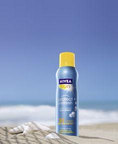 Das neue NIVEA Sun Protect & Refresh Kühlende Sun Spray. #nivea #sun #spray #summer #fresh