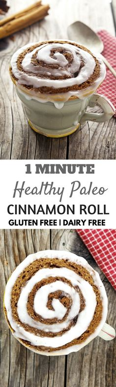 One minute Paleo Mug Muffin recipe round up! A compilation of the top paleo mug muffins made in under 1 minute! Vanilla cakes, mug brownies, and more...