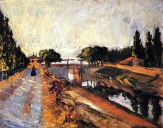 The Pont de l'Anglois, 1902, Charles Camoin