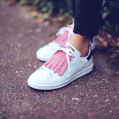 • Kiltie rose • Adidas Stan Smith •