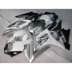 Suzuki GSX-R 1000 2007-2008 K7 Injection ABS Fairing - Others - White/Black/Silver   $659.00