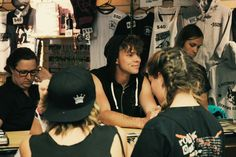 @Ashton5SOS stopping by the merch booth today