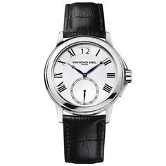 Raymond Weil Tradition White Roman Numerals Dial Men's Watch 9578-STC-00300 $.0