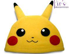 Pokemon Lucario Hat / Sombrero del paño grueso y suave /