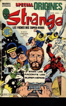 Couverture de Strange (Spécial Origines) -169bis- Strange 169 bis