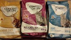 Unsere Katzen durften das neue Trockenfutter Concept For Life von Zooplus testen:  http://www.tarisa.de/produktvorstellung-concept-for-life-trockenfutter-von-zooplus/  #Katzenfutter #Zooplus #Test #ad