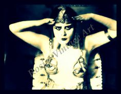 "Theda Bara   July 29, 1885 – April 7, 1955), born Theodosia Burr Goodman, was an American silent film actress – one of the most popular of her era, and one of cinema's earliest sex symbols.Her femme fatale roles earned her the nickname ""The Vamp"" (short for vampire). The term ""vamp"" soon became a popular slang term for a sexually predatory woman."