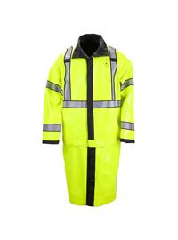 5.11 Tactical High-Vis Reversible Raincoat | Streicher's Police Equipment