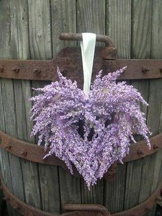 Lavender wreath...so ethereal and perfectly beautiful!