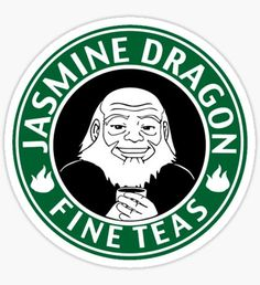 Pegatina Avatar Jasmine Dragon Tea