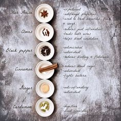 Chai tea ingredients and their health benefits