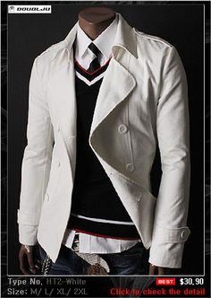DOUBLJU Mens Casual Best Blazer