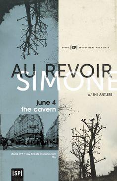 Au Revoir Simone Poster