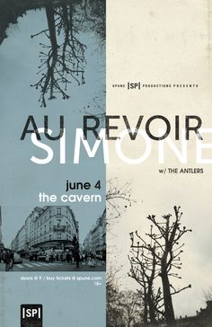 All sizes | Au Revoir Simone Poster | Flickr - Photo Sharing!