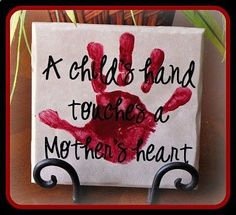 Mothers Day gift idea or Grandparents day! This could also be for a grandparent for Valentines day!