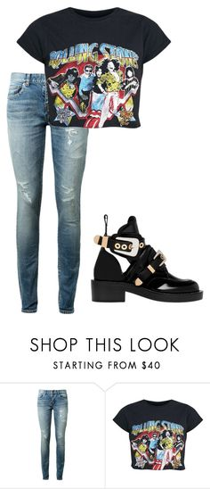 """Untitled #48"" by leila3127 on Polyvore featuring Yves Saint Laurent and Balenciaga"