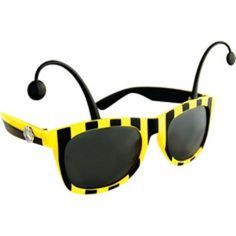 Furry Shades Let the Wild Out Bumble Bee Sunglasses #SunStache
