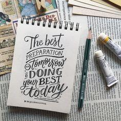 Calligraphy Quotes Doodles, Brush Lettering Quotes, Doodle Quotes, Hand Lettering Quotes, Creative Lettering, Typography Quotes, Typography Letters, Lettering Design, Font Alphabet