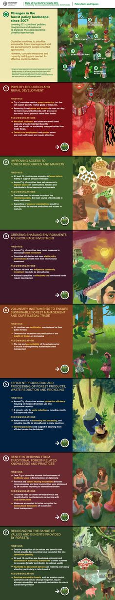"""""""The State of World's Forests 2014 - Policy facts and figures"""""""