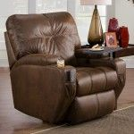 $634.39  Recline Designs Furniture - London Bonded Leather Home Theater Recliner - 817-14.TR