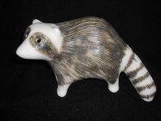 STRAWBERRY HILL POTTERY RACCOON