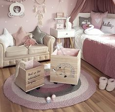 Chic teen girl bedrooms tips for the charming teen girl room area, image example 2461263357 Girls Bedroom, Cozy Bedroom, Bedroom Ideas, Bedroom Decor, Shabby Chic Bedrooms, Trendy Bedroom, Toddler Pictures, Deco Kids, Toddler Rooms