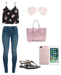 """""""💕"""" by aggeliki27796 ❤ liked on Polyvore featuring J Brand, Michael Kors and Alexander McQueen"""