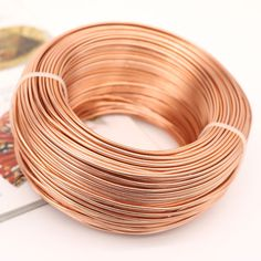 Aluminum Round Wire Bright Aluminum Craft Wire Jewelry Wire, Dark ...