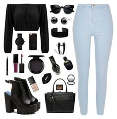 """"""""""" by girlyaddict on Polyvore featuring mode, River Island, Witchery, Miss Selfridge, NARS Cosmetics, Smashbox, MAC Cosmetics, Lime Crime et Alexander McQueen"""