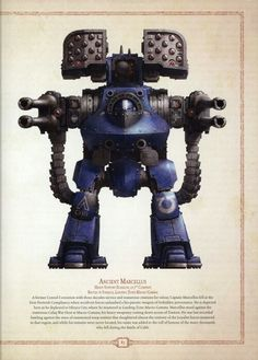 Ultramarine Heavy Dreadnought
