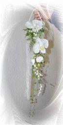 Brautstrauss Orchideen modern
