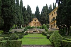 Villa Fidelia, Spello, Italy. Photo by Roger Mullenhour via Fine Art America.