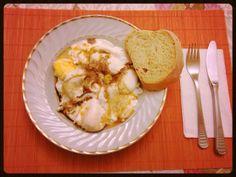 Panagyurski eggs | Bulgarian poached eggs with paprika