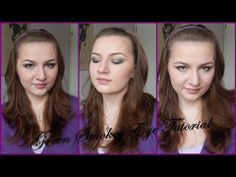 Easy Green Smokey Eyes Tutorial // Using affordable Makeup