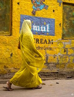Indian yellow by Tany Kely