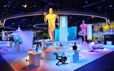 Intel's booth, and its futuristic trees, may have been one of the showstoppers at the Consumer Electronics Show last year, but that didn't stop the technology company from going back to the drawing board to bring something entirely new to show goers at this year's show, Jan. 6-9 at the Las Vegas Convention Center. The reimagined footprint represented a more keynote-centric experience design strategy for the brand.