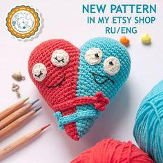 New pattern. #amigurumipattern  #amigurumi #patterns  #pdfpattern  #crochet  #diy  #amigurumitoy  #crochettoy  #handmade  #dsmousebears  #weamiguru  #etsyshop  #etsy  #etsygifts  #valentines  #valeninesday  #crocheting  #kawaii  #kawaiiheart  #crochetheart  #instacrochet  #cutethings  #etsyseller