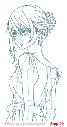 How to Draw Mary from Hai To Gensou No Grimgar step 09 Scary Mary, Grimgar, Manga, Twin Star Exorcist, Anime Sketch, Learn To Draw, Anime Art, Projects To Try, Merry