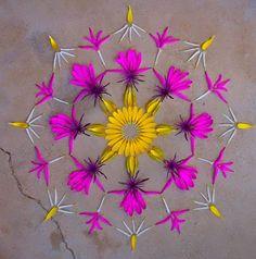 Bloemen mandala�s