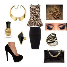 Leopard Night out/ Club outfit