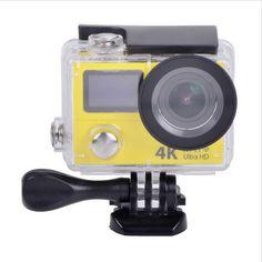 2 Näytön 4K Action Kamera € 51,72 | Tavaraa Halvalla Kiinasta Technology Gadgets, Geeks, Geek Stuff, Action, Cool Stuff, Geek Things, Cool Things, Group Action, Geek