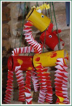 Red Ted Art's Blog » Giraffe's can't dance book with cute TP roll Giraffe Marionette craft, Webelos showman
